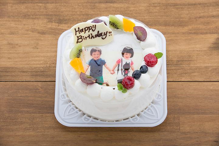 フォトデコレーションケーキ